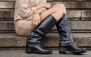 Модные сапоги года. Для активных и целеустремленных женщин дизайнеры предлагают сапоги спортивного стиля. Модные тенденции женских сапог осенне-зимнего сезона