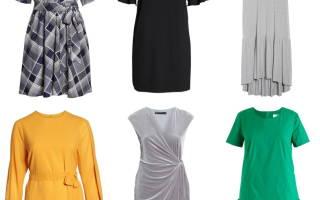 Длинные нарядные платья для полных женщин. Какие фасоны платьев подходят полным женщинам