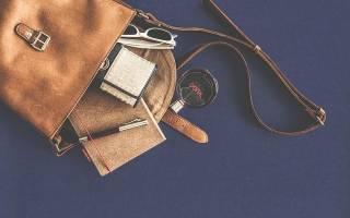 Что должно быть в сумочке каждой девушки. Как организовать порядок в женской сумочке? Ручка и записная книжка