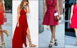 Какие цвета и цветовые сочетания подходят женщинам элегантного возраста. С чем сочетать красное платье, с чем носить? Какого цвета колготки одеть под красное платье, туфли, босоножки, аксессуары, украшения? Образ с красным платьем