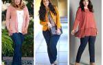Модели одежды на полных высоких женщин. Идеальный гардероб для полных дам