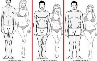 Тип строения тела человека как определить. Как узнать какой у тебя тип телосложения. Кто такой эктоморф: описание строения тела мужчин и женщин, фото