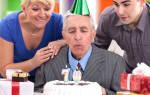 Что подарить пожилому мужчине на день рождения. Что можно подарить пожилому мужчине: варианты презентов на День рождения