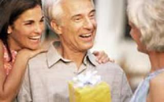 Что подарить старому человеку на день рождения. Что можно подарить пожилому мужчине: варианты презентов на День рождения. Что подарить пожилому человеку — мужчине