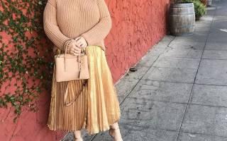 Длинные юбки на лето для полных. Длинные юбки для полных женщин – модно и удобно
