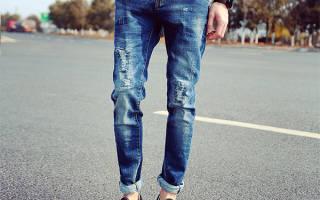 Как подворачивают штаны. Как правильно подворачивать джинсы мужчинам