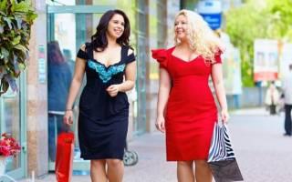 Креатив в одежде для полных. Стильная одежда для полных женщин фото с животом