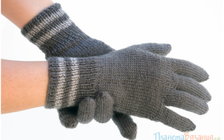 Связать перчатки спицами с описанием для женщин. Вязание женских ажурных перчаток. Этап формирования пальцев