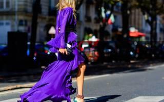 Фиолетовый и красный цвет. Какой цвет сочетается с фиолетовым в одежде женщины, что означает, с чем носить, кому идут оттенки и тона фиолетового. Как серый и зеленый сочетается в одежде