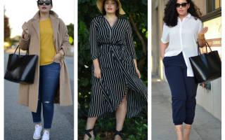 Летние на полных девушек. Стильные образы от модных fashion-блогеров plus size