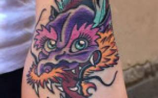 Значение татуировки дракон на спине у девушки. Мифическое существо – дракон. Значение тату. Эскизы Татуировка дракон