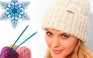 Вязаные шапочки мода. Как связать шапку спицами для женщины — новинки