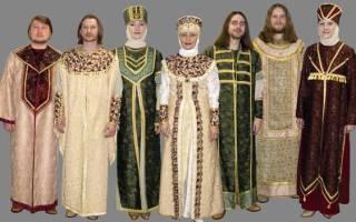 Какую одежду носили русские женщины. Какую одежду носили в старину на Руси