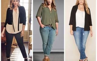 Как одеваться пышным женщинам? Фото полных женщин моделей