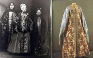 Праздничные наряды женщин русского севера