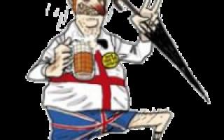 Британская внешность мужчины. Национальные особенности характера английского народа